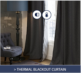 Thermal blackout curtain